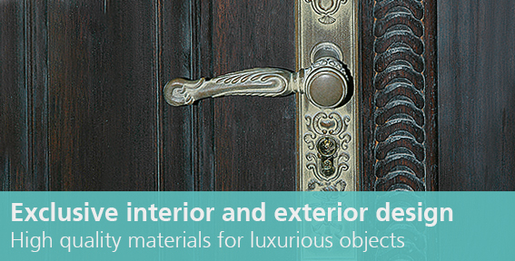 "Link to ""exclusive interior and exterior design"""