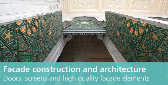 "Link to ""facade construction and architecture"""