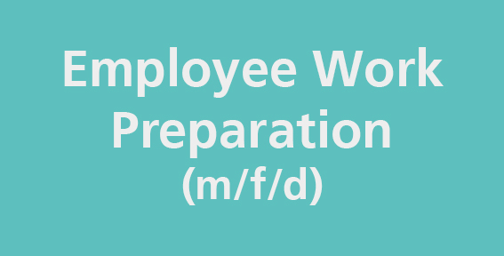 An image that is linked to the job offer employee work preparation.